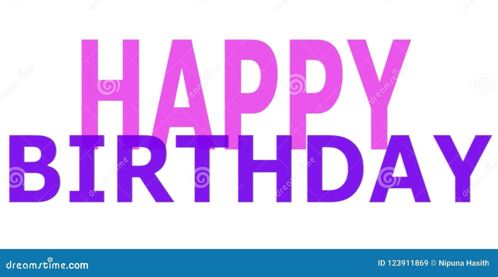 simple happy birthday wish