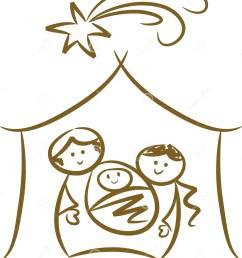 simple nativity scene [ 1222 x 1300 Pixel ]