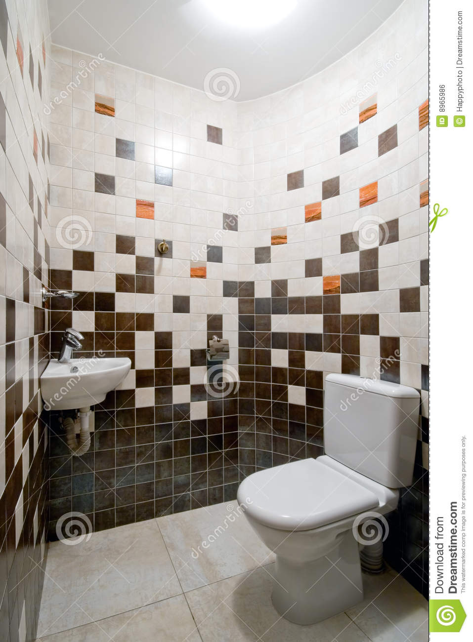 Simple Toilet Room Royalty Free Stock Image  Image 8965986