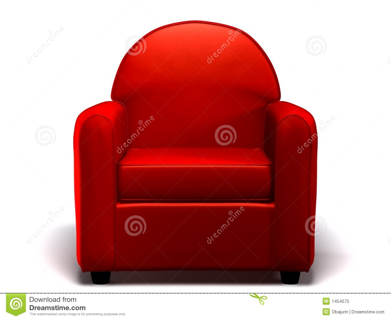 2 seater love chair red kitchen chairs single seat sofa stock illustration. image of executive - 1454575
