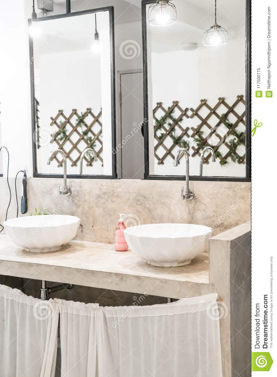 Modern Faucets For Bathroom Sinks Sink Basin Faucet In Bathroom Stock Image Image Of Modern
