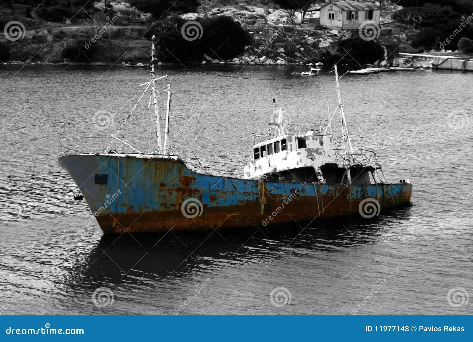 Sinking Ship Royalty Free Stock Photos