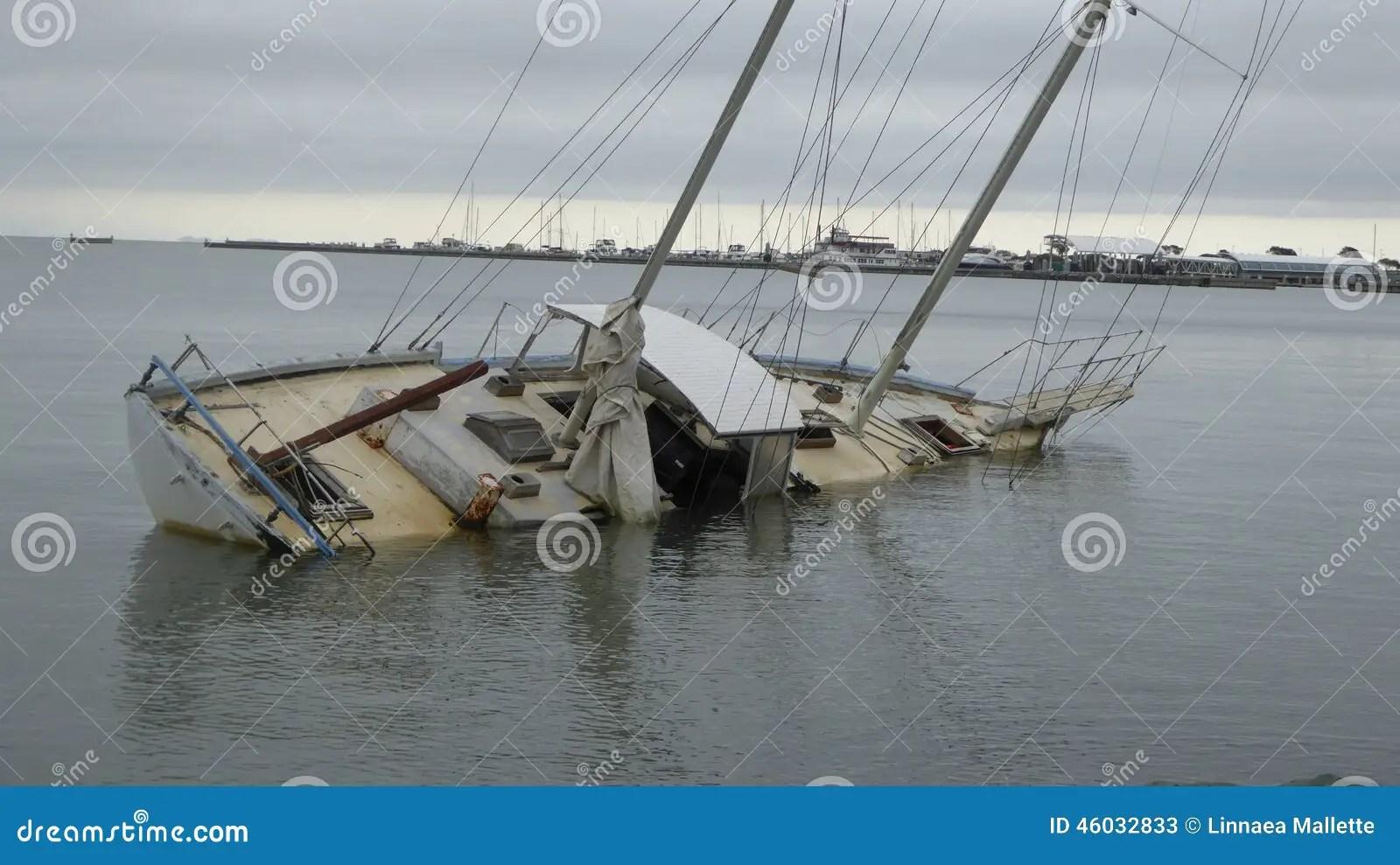 Sinking Ship Stock Image Image Of Sinking Sail Days
