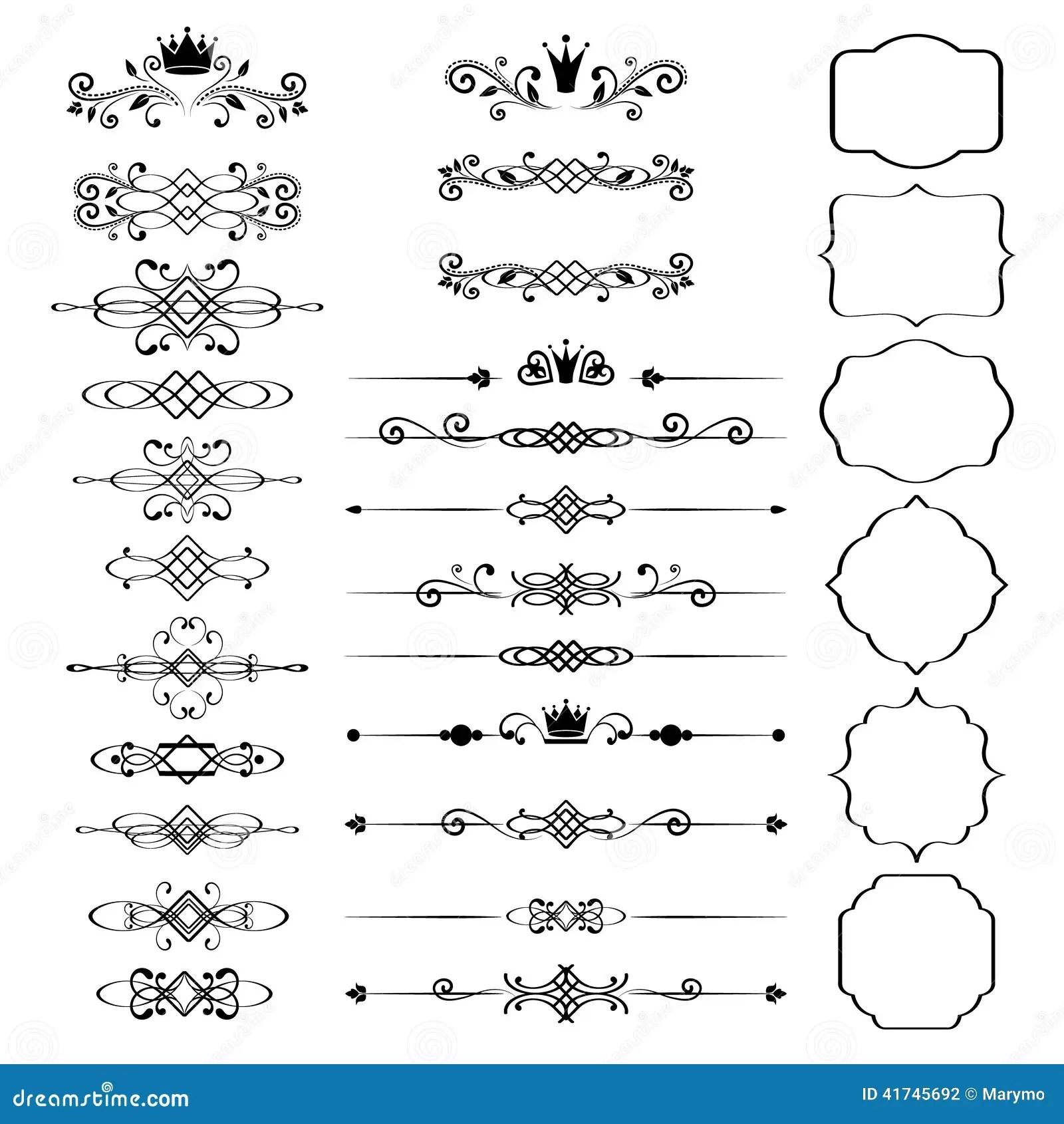 Sistema De Elementos Del Diseno Floral Marcos