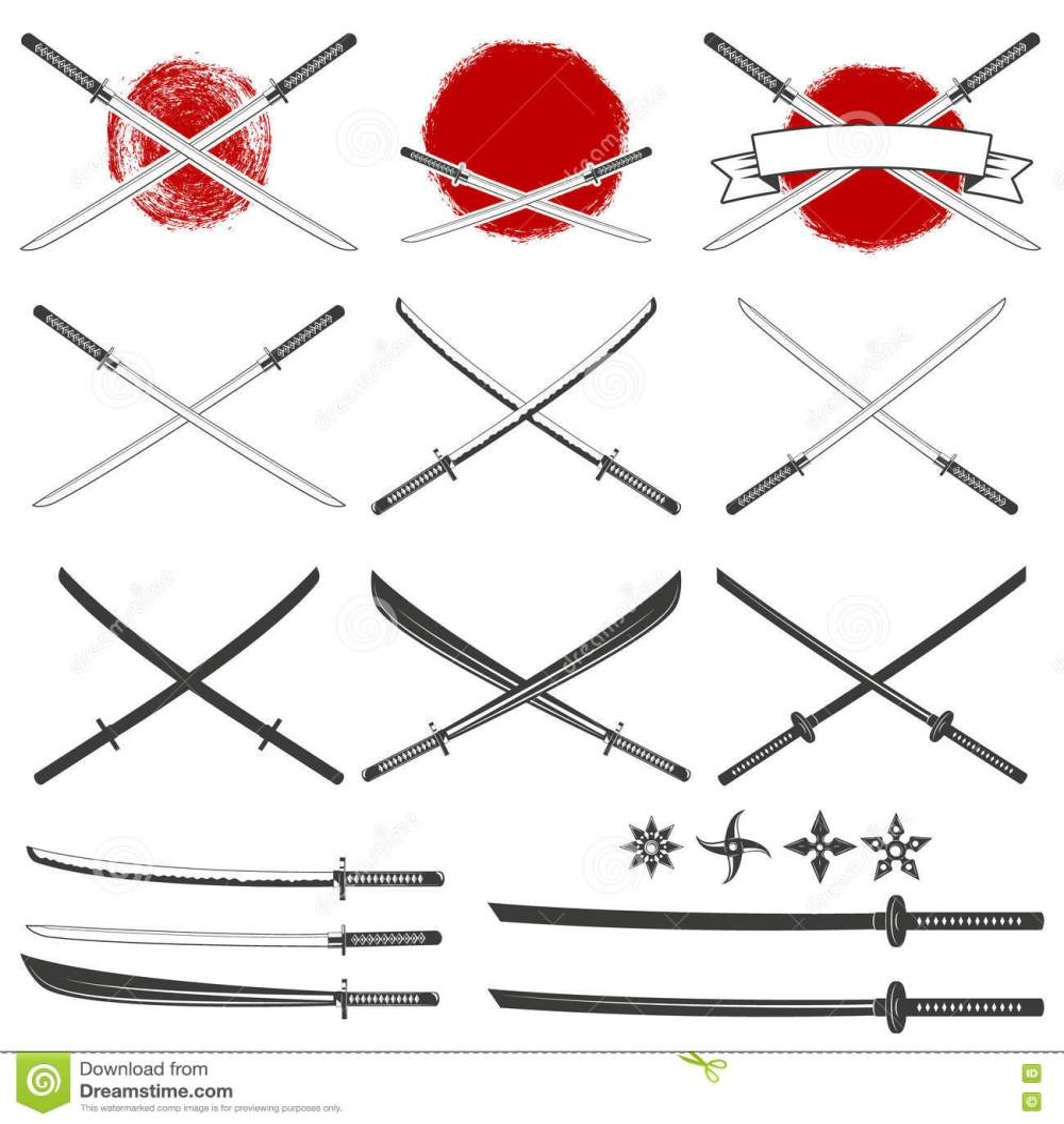 medium resolution of sistema de las espadas del katana