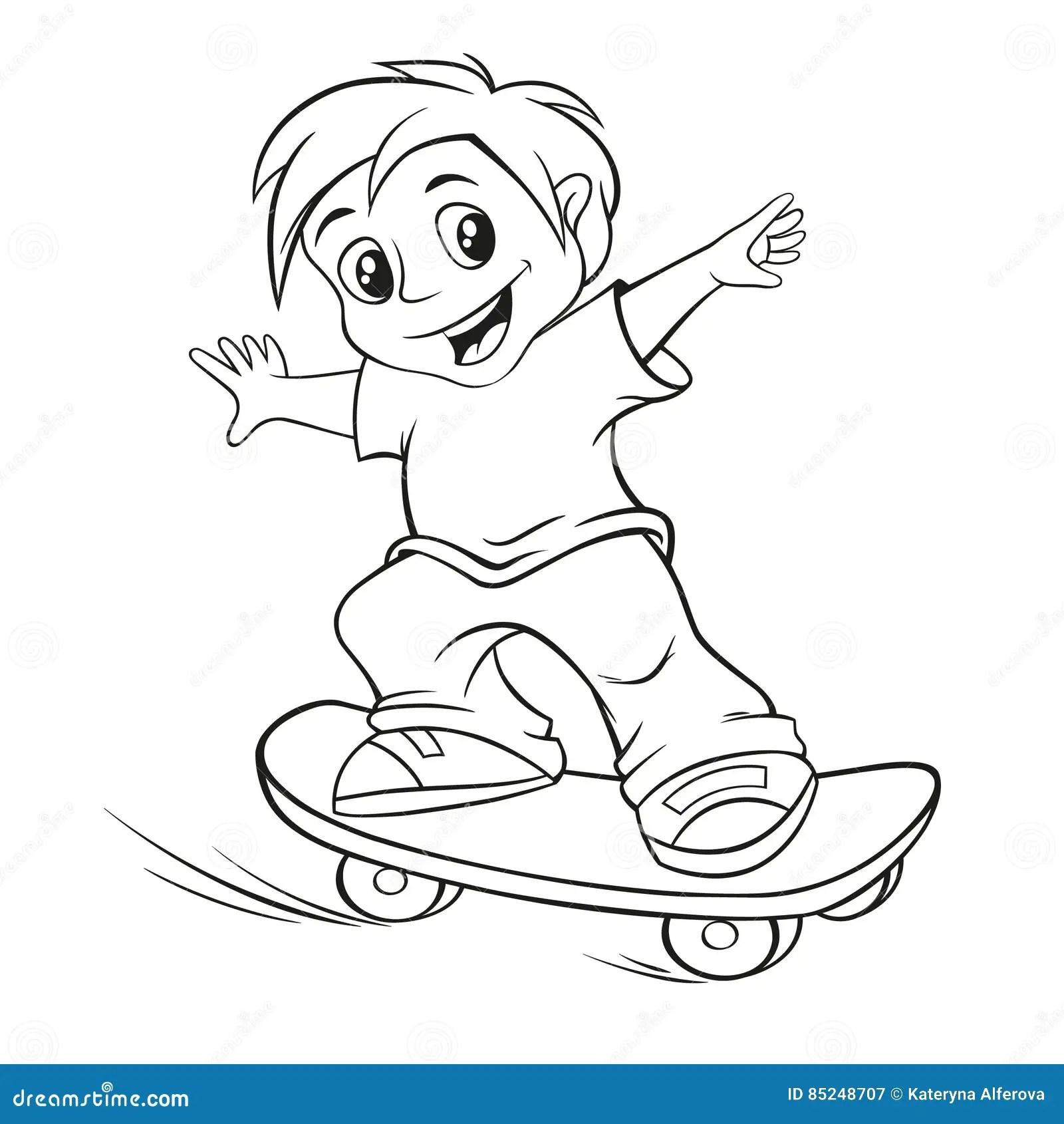 Skateboarding Stock Illustrations 7 739 Skateboarding