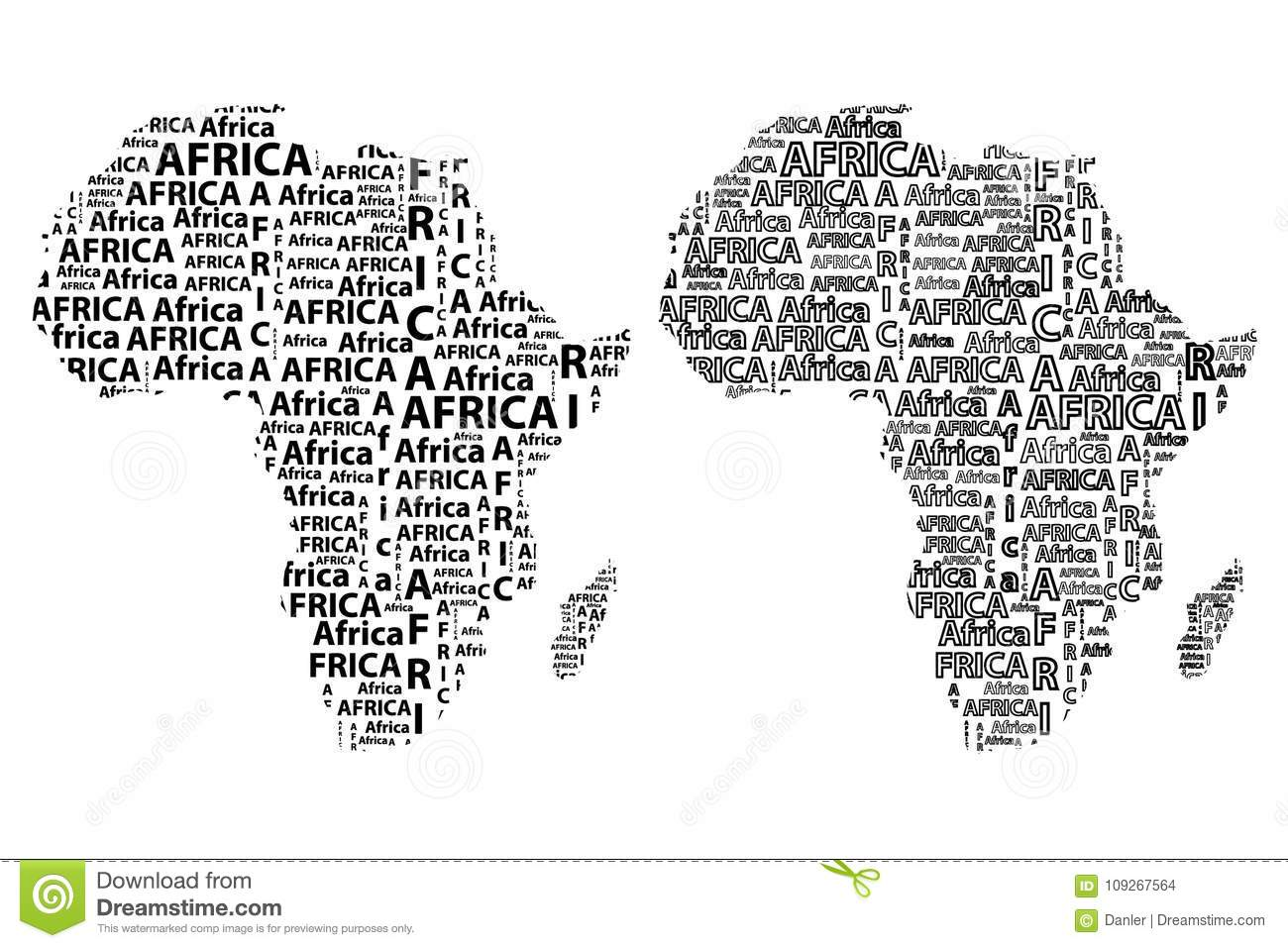 Jungle Maps: Map Of Africa To Label