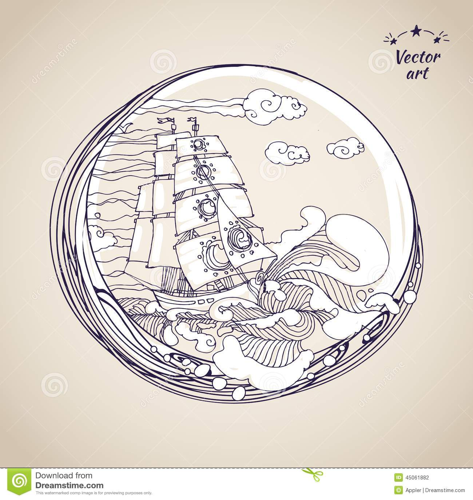 tsunami diagram with labels 1966 corvette starter wiring 2 sketch pen drawing sailfish at circle label stock vector