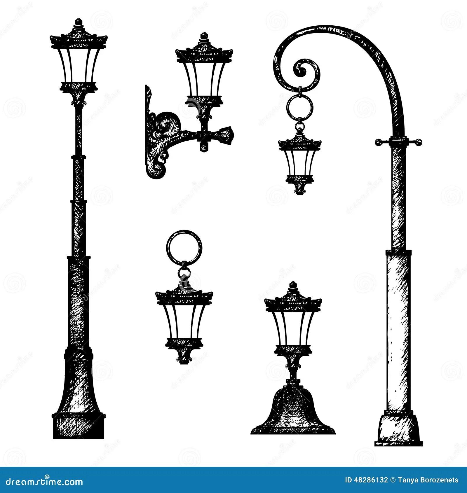 Pole Street Light Installation