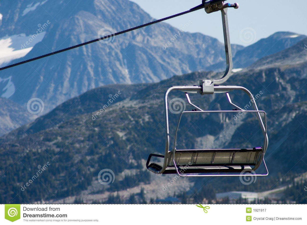 ski chair lift eames aluminum group executive stock image of season empty tranquil 1921917