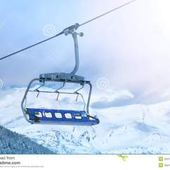 Ski Chair Lift Louis Xvi Chairs Stock Photo Cartoondealer 86132682