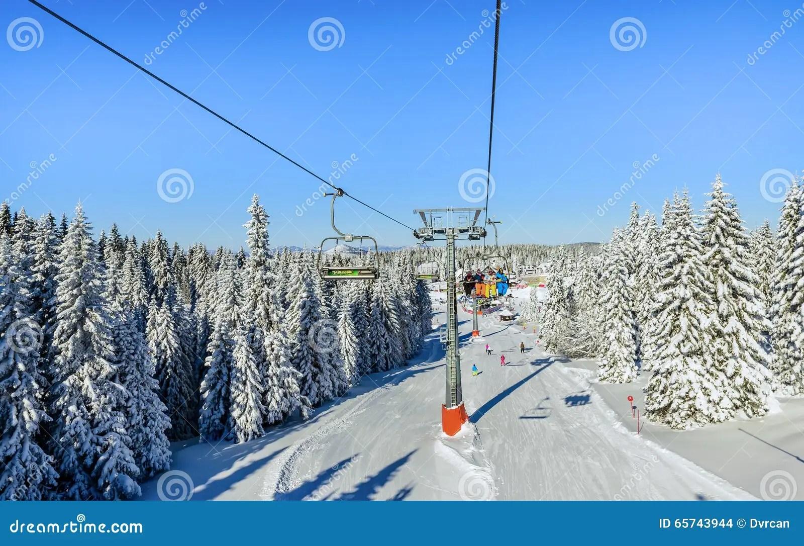 buy ski lift chair rattan arm with chairs in kopaonik resort serbia