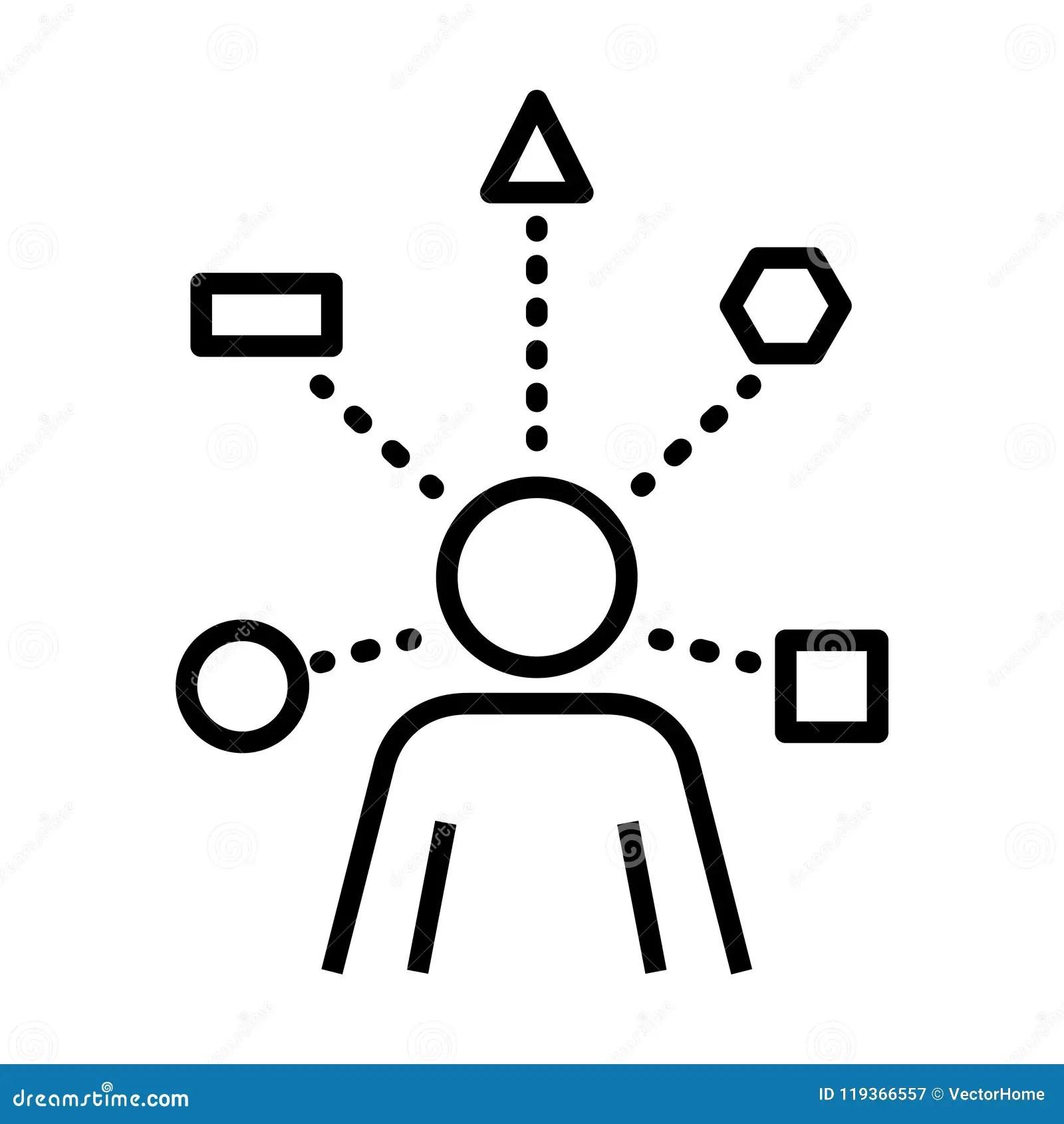 Skills Icon, Vector Illustration Stock Vector
