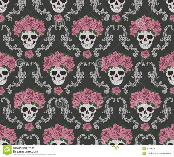 20 Cute Skull And Roses Wallpaper Pictures And Ideas On Weric
