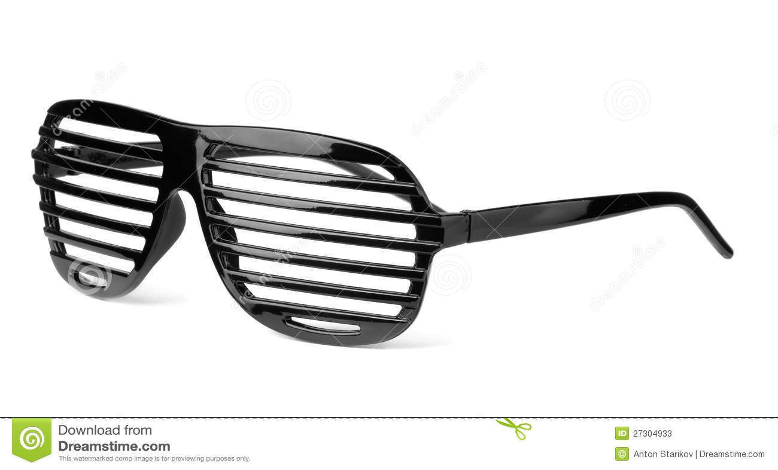 Slatted Sunglasses Stock Image Image Of Eyes Glamour
