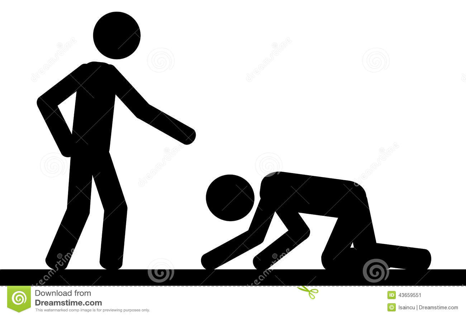 Kneeling Art Clip Person