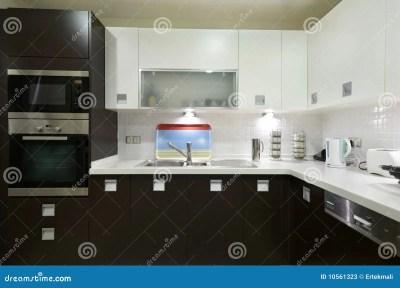 Sleek Modern Kitchen Stock Photos - Image: 10561323