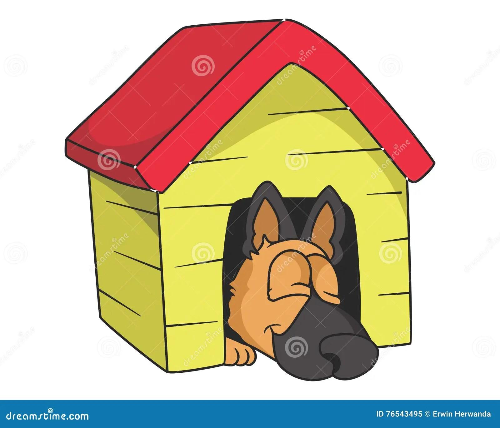 hight resolution of sleeping dog illustration with gradients stock illustration