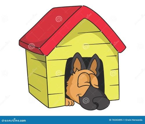 small resolution of sleeping dog illustration with gradients stock illustration
