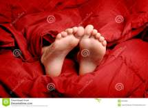 Sleeping Feet Royalty Free Stock - 8219685