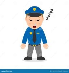 policeman sleeping cartoon character figur schlafende zeichentrickfilm polizist