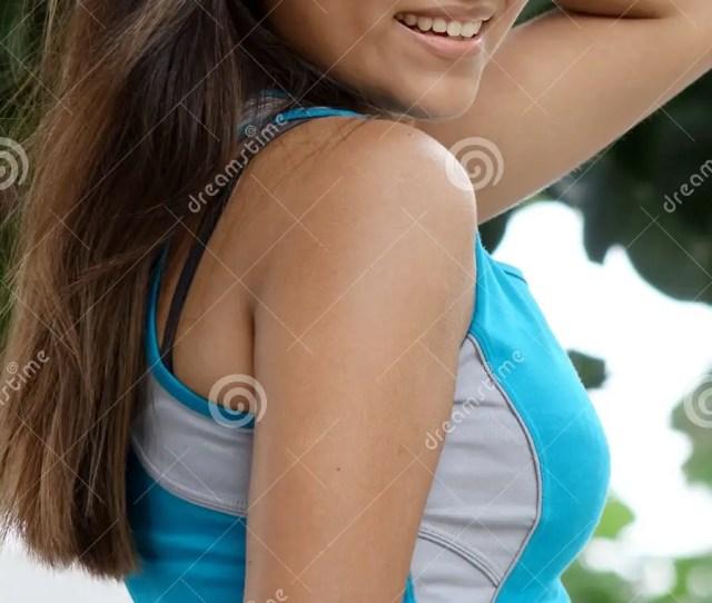 A Pretty Young Peruvian Teen Girl