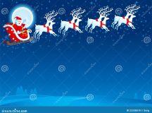 Slitta Con Il Babbo Natale Fotografie Stock Libere da ...