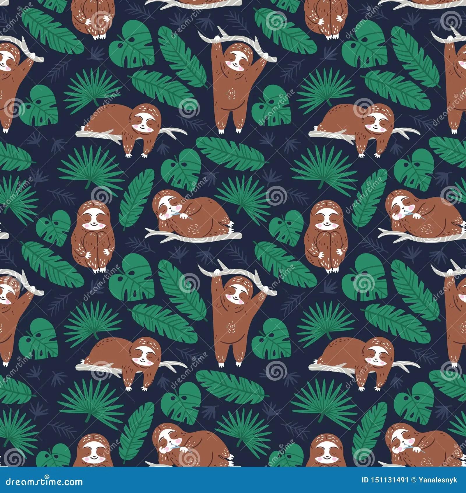 Cartoon Wallpaper Cute Sloth - cartoon lovers