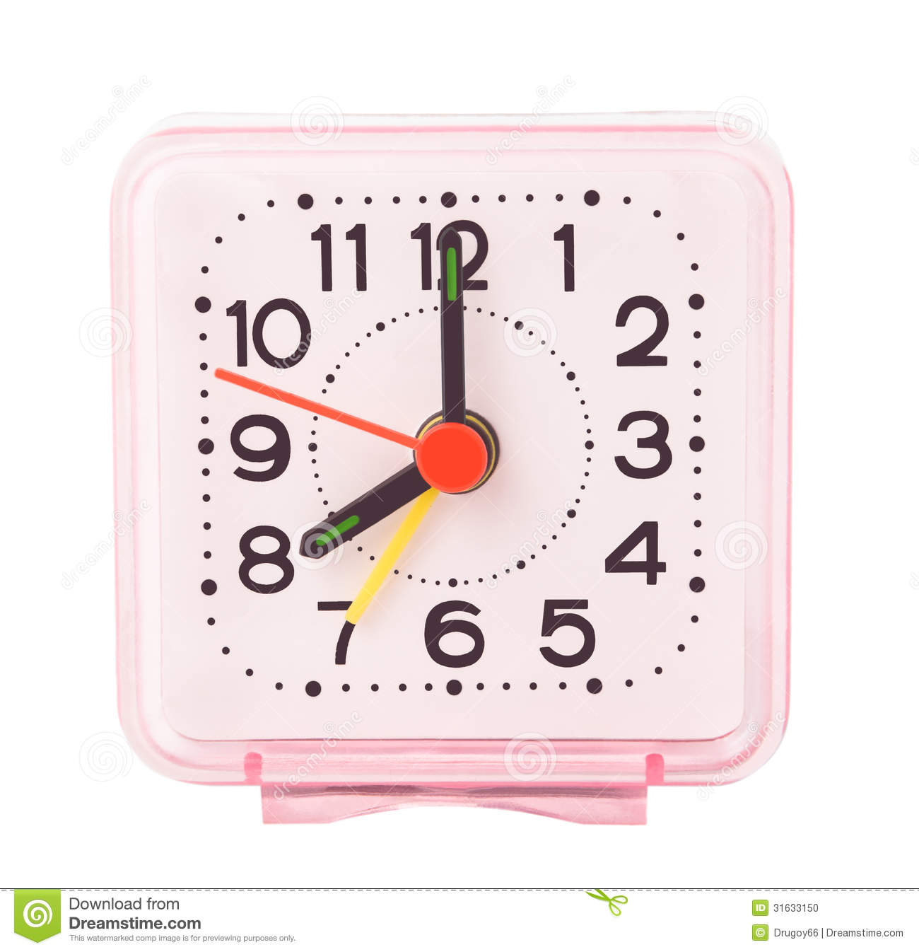 Small Alarm Clock Stock Photo Image Of Electronic Clock 31633150