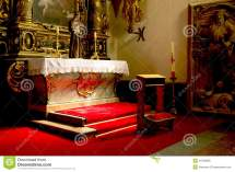 Small Altar Royalty Free Stock - 34759836