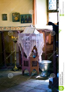 Small Altar In Orthodox Church Royalty Free Stock