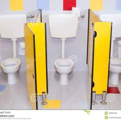 Desk Chair Red Vintage French Chairs Small Bathrooms Of A School For Children Stock Photo - Image: 48663400