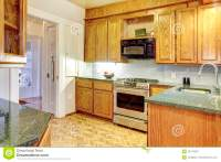 Small cozy kitchen stock image. Image of small, house ...