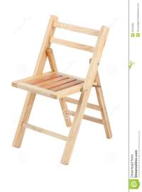 Small Folding Wooden Chair Stock Photos - Image: 27012923