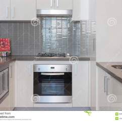 Small Kitchen Stoves Oil Bronze Faucet With Built In Stove Stock Photo Image Of
