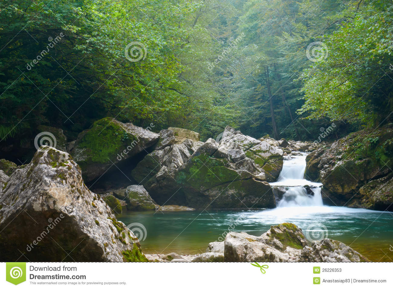 Leaf Wallpaper Wet Fall Small Mountain River Waterfall Stock Photos Image 26226353