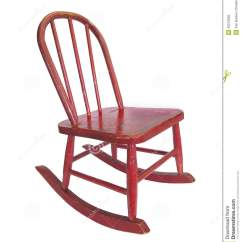 Little Rocking Chairs For Toddlers Chair Two Small Red Royalty Free Stock Photo Image