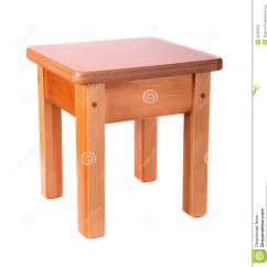 Wooden Step Stool Chair Bicycle Seat Office Small Stock Photo. Image Of Comfortable - 32402666