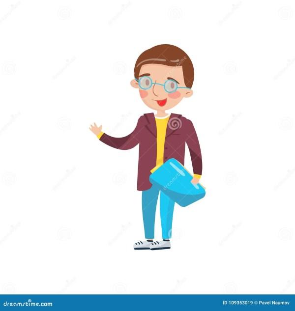 Smart Boy In Glasses Preschool Activities And Early