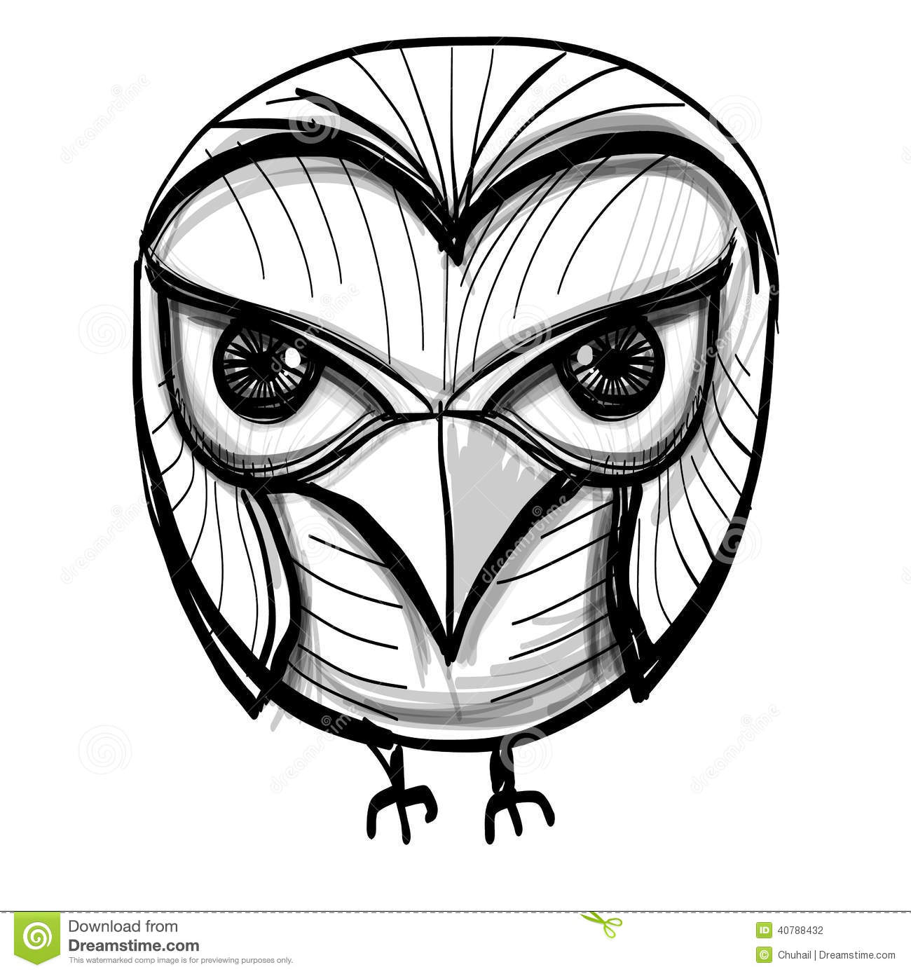 Smart Owl. Education, Wisdom Symbol. Stock Vector
