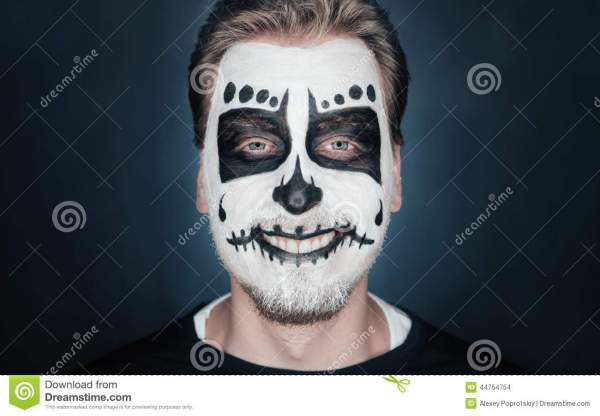 20 Halloween Makeup Sugar Skull Man Pictures And Ideas On Carver Museum
