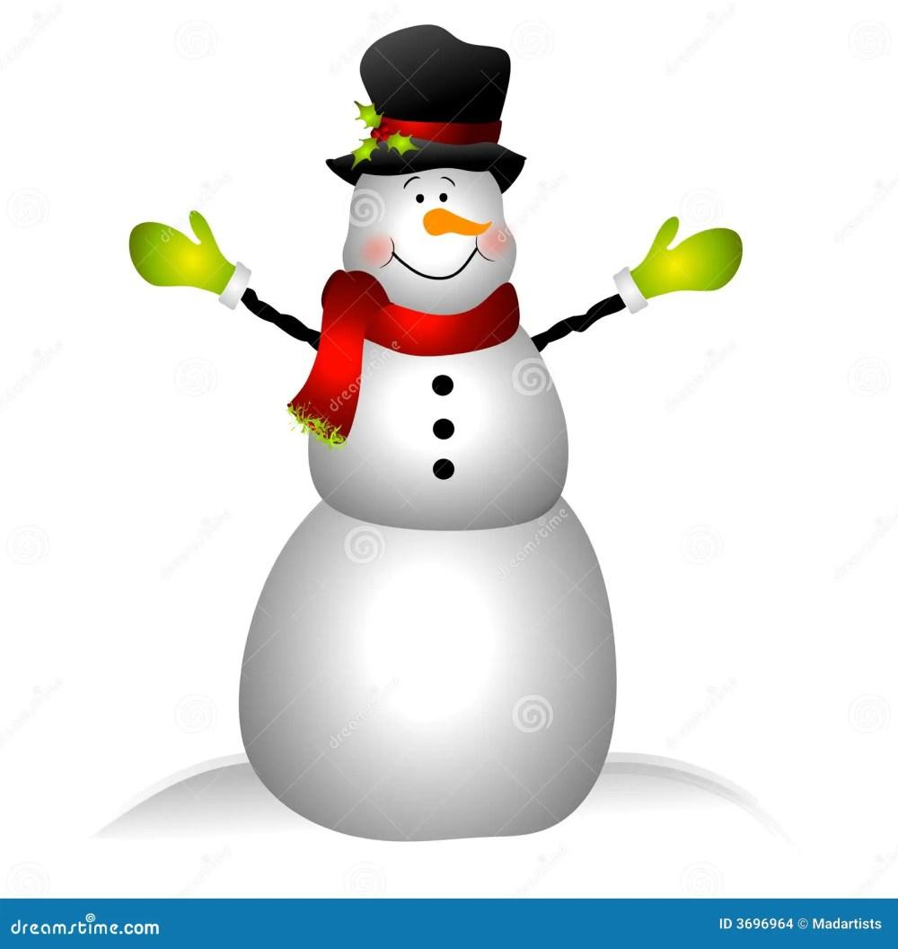 medium resolution of smiling snowman clip art isolated