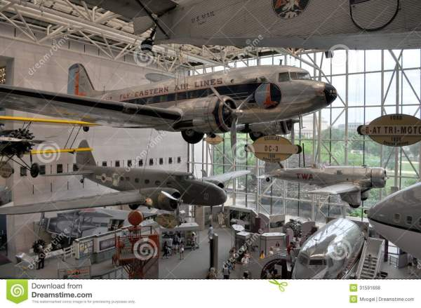 Smithsonian Air And Space Museum Editorial Stock
