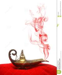 Genie Lamp With Smoke
