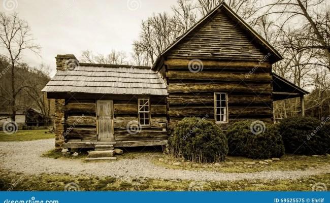 Smoky Mountain Appalachian Farmhouse Stock Image Image