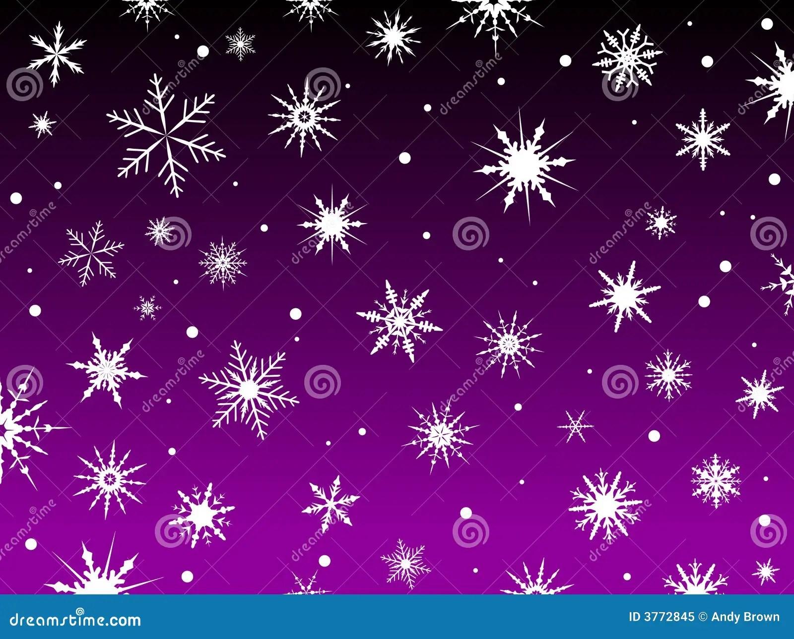 Free Desktop Wallpaper Falling Snow Snow Border Purple Stock Vector Illustration Of Snow