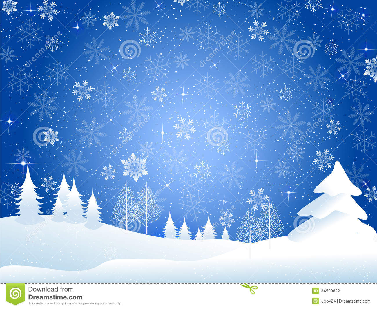 Free Animated Snow Falling Wallpaper Snow Christmas Background Stock Illustration Image Of