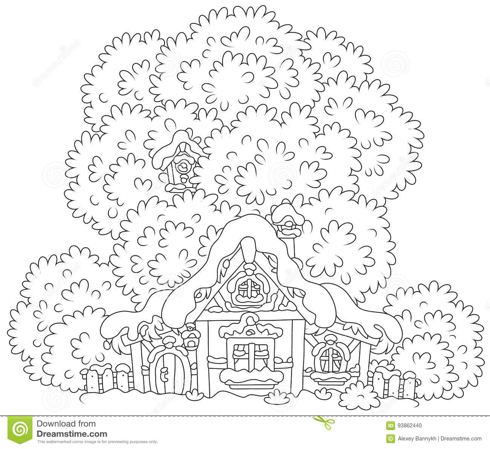 a hut roof