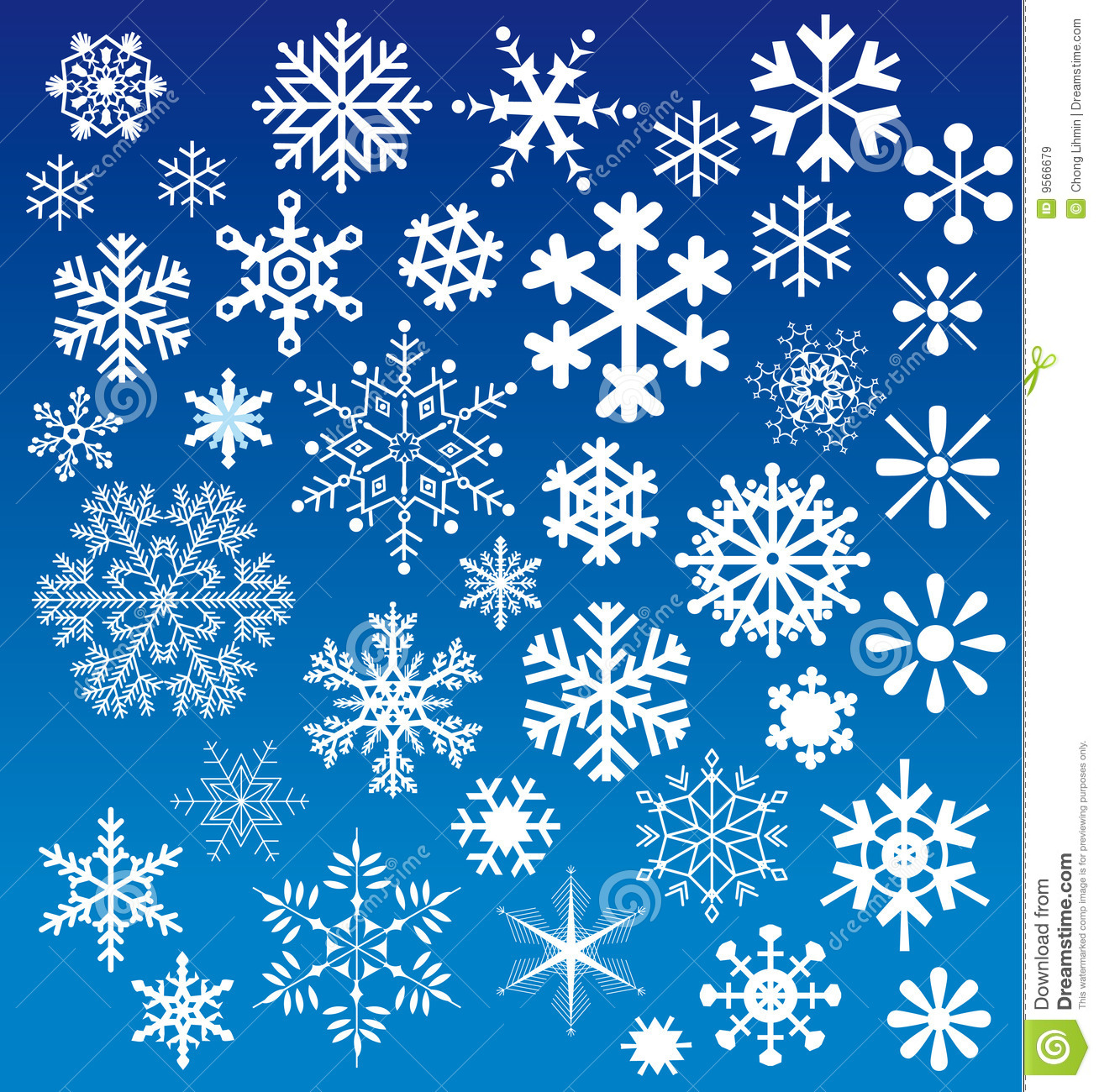 Snow Falling Video Wallpaper Snow Flakes Choices Stock Vector Image Of Seasonal