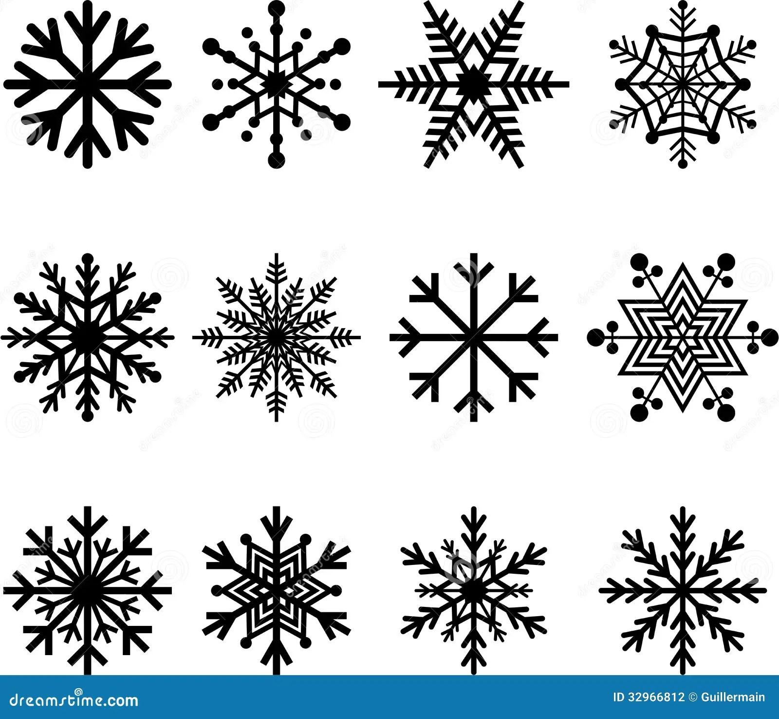Icy Snowflake Pattern